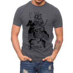 Image for Zane Fix Wolf Samurai T-Shirt