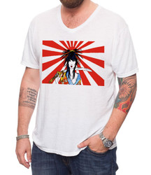 Image for Zane Fix Kamikaze Girl V-Neck T-Shirt