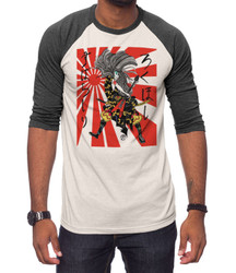 Image for Zane Fix Magnificent Rockstar 3/4 Sleeve Raglan T-Shirt