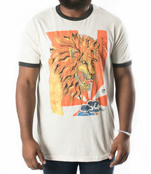 Image for Zane Fix Strongest Belief the Lion Ringer T-Shirt