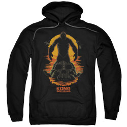 Image for Kong Skull Island Hoodie - Silhouette