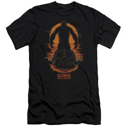Image for Kong Skull Island Premium Canvas Premium Shirt - Silhouette
