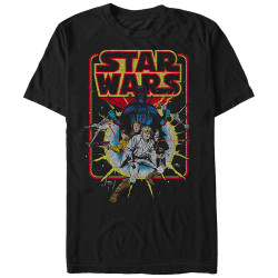 Image for Star Wars Old School Comic T-Shirt