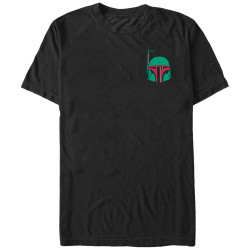 Image for Star Wars Bobba Head Pocket T-Shirt