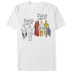 Image for Star Wars Not the Droids T-Shirt