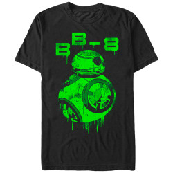 Image for Star Wars Episode 7 Oozing BB8 T-Shirt