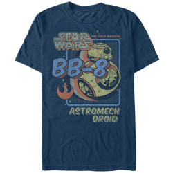 Image for Star Wars Episode 7 Spacey Droid T-Shirt