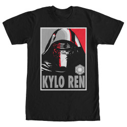 Image for Star Wars Episode 7 Vote Kylo Red T-Shirt