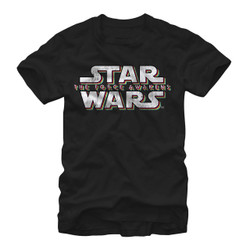 Image for Star Wars Episode 7 Faded Logo T-Shirt