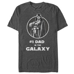 Image for Star Wars Number One Dad Heather T-Shirt