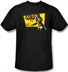 Image Closeup for Xena Warrior Princess Cut Up T-Shirt