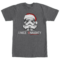 Image for Star Wars Trooper List Heather T-Shirt
