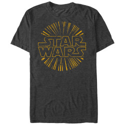 Image for Star Wars Star Burst Heather T-Shirt