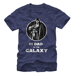 Image for Star Wars Number 1 Dad Heather T-Shirt