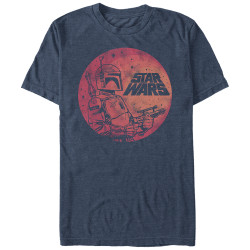 Image for Star Wars Fett Up Heather T-Shirt
