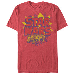 Image for Star Wars Woosh Heather T-Shirt