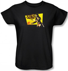 Image for Xena Warrior Princess Cut Up Woman's T-Shirt