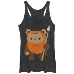 Image for Star Wars Womens Tank Top - Ewok Spear