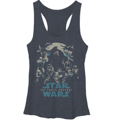 Image for Star Wars Episode 7 Womens Tank Top - Poster Out