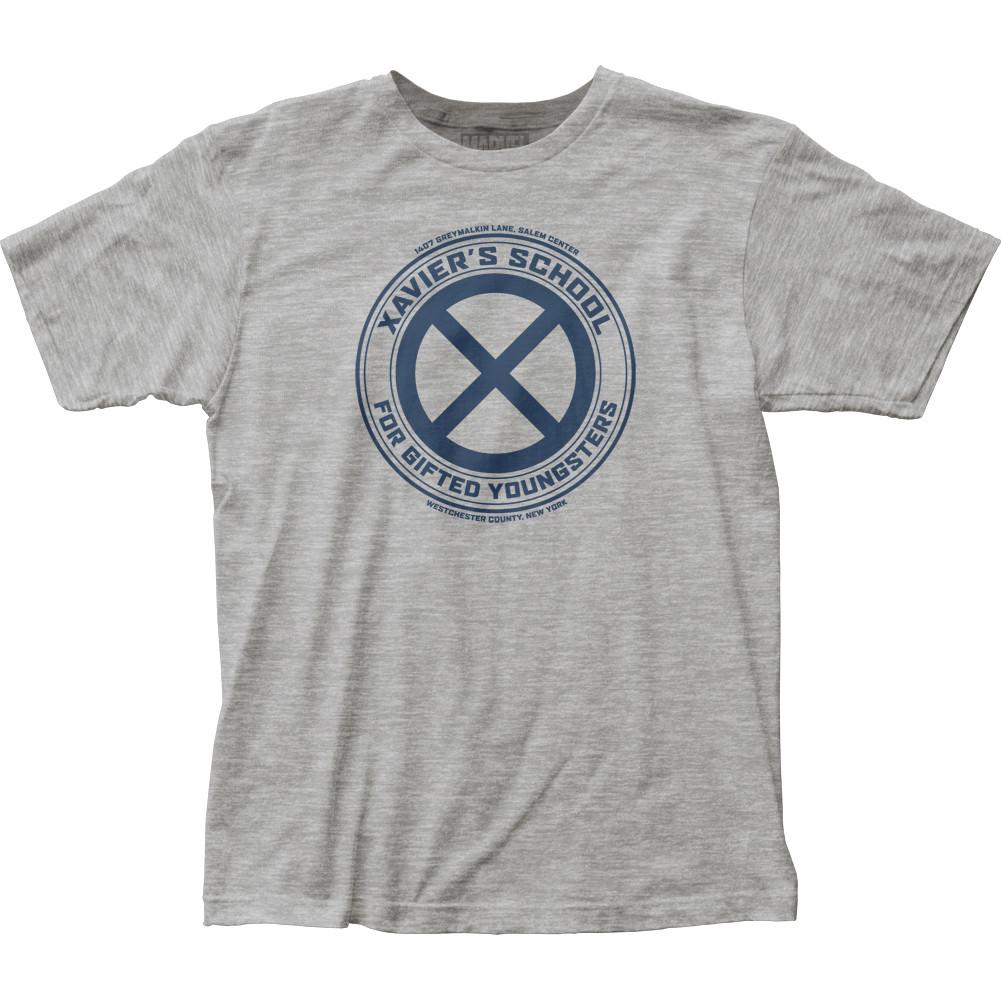 78dace56e X-Men T-Shirt - Xavier's School Logo - NerdKungFu