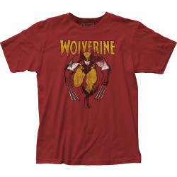 Image for Wolverine T-Shirt - Vintage Charge