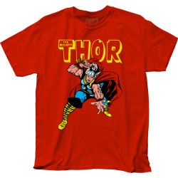 Image for Thor T-Shirt - War Hammer