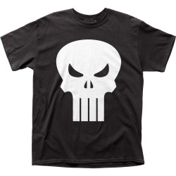 Image for The Punisher T-Shirt - White Logo