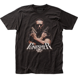 Image for The Punisher T-Shirt - Crossfire