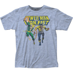 Image for Iron Fist Heater T-Shirt - Power Man & Iron Fist