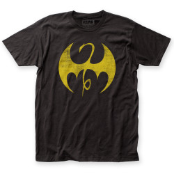 Image for Iron Fist T-Shirt - Distressed Logo