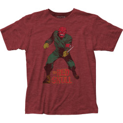 Image for Red Skull T-Shirt - Dagger
