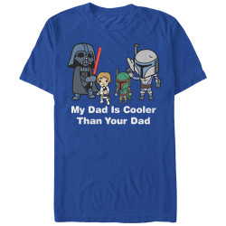 Image for Star Wars My Dad is Cooler than Your Dad Premium T-Shirt