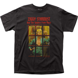 Image for David Bowie Ziggy Phone Booth T-Shirt
