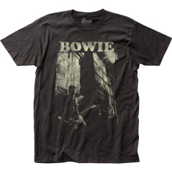 Image for David Bowie Guitar T-Shirt