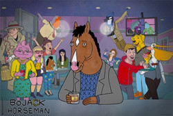 Image for Bojack Horseman Poster - Dive Bar
