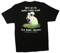 Image for Monty Python T-Shirt - Killer Rabbit