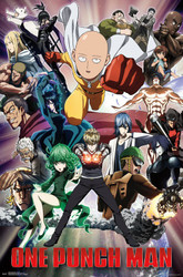 Image for One Punch Man Poster - Crew