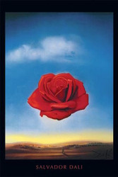 Image for Salvador Dali Poster - Meditative Rose