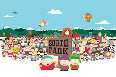 Image for South Park Poster - Cast