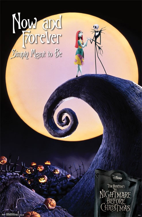 image for nightmare before christmas poster now and forever loading zoom - The Nightmare Before Christmas Poster