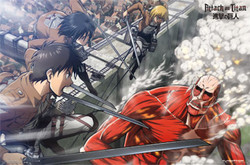 Image for Attack on Titan Poster - Battle