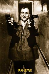 Image for Taxi Driver Guns Poster - Guns