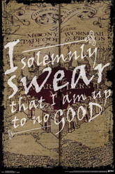 Image for Harry Potter Poster - I Solemnly Swear