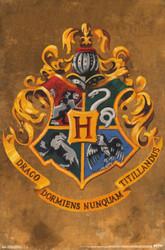 Image for Harry Potter Poster - Hogwarts Crest