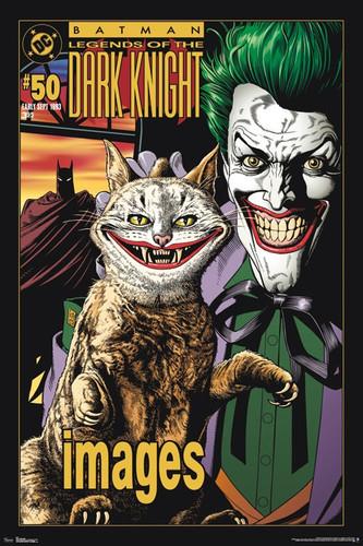 Image for Batman Poster - Joker Kitty