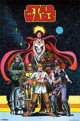 Image for Star Wars Poster - Comic Cover