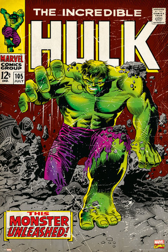 Image for Hulk Poster - the Monster Unleashed