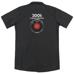 Image for 2001: A Space Odyssey Dickies Work Shirt - Hal