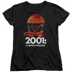 Image for 2001: A Space Odyssey Womans T-Shirt - Space Travel