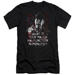 Image for Full Metal Jacket Premium Canvas Premium Shirt - What is Your Majoy Malfunction Numbnuts?